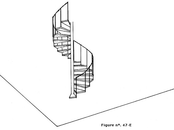 The Gallery For Square Spiral Staircase Dimensions